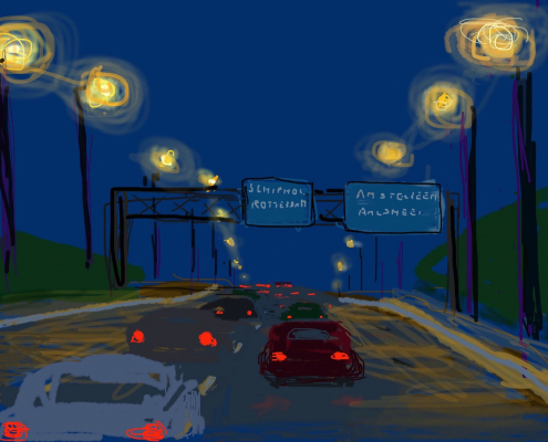 Het Blauwe Uur | On the Way Home 03 (943) - iPhone