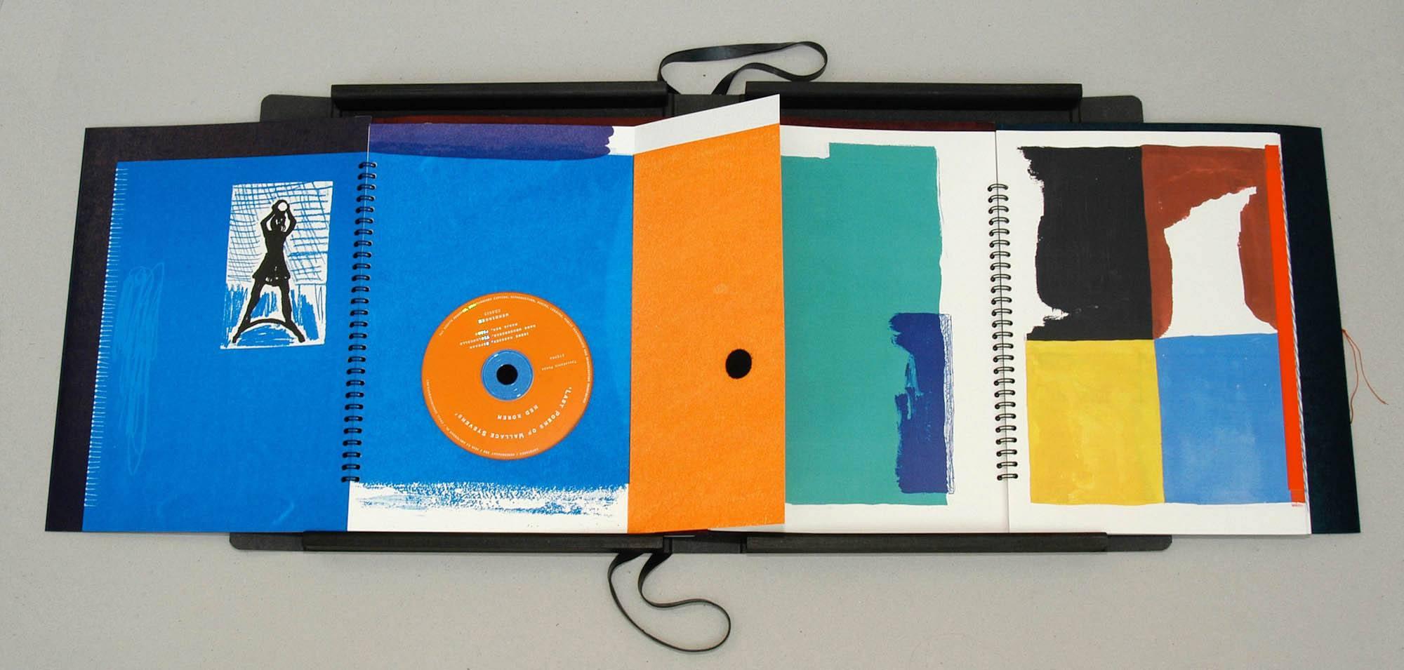 Ode aan de Kolossale Zon   band 1 met CD-pagina en band 3