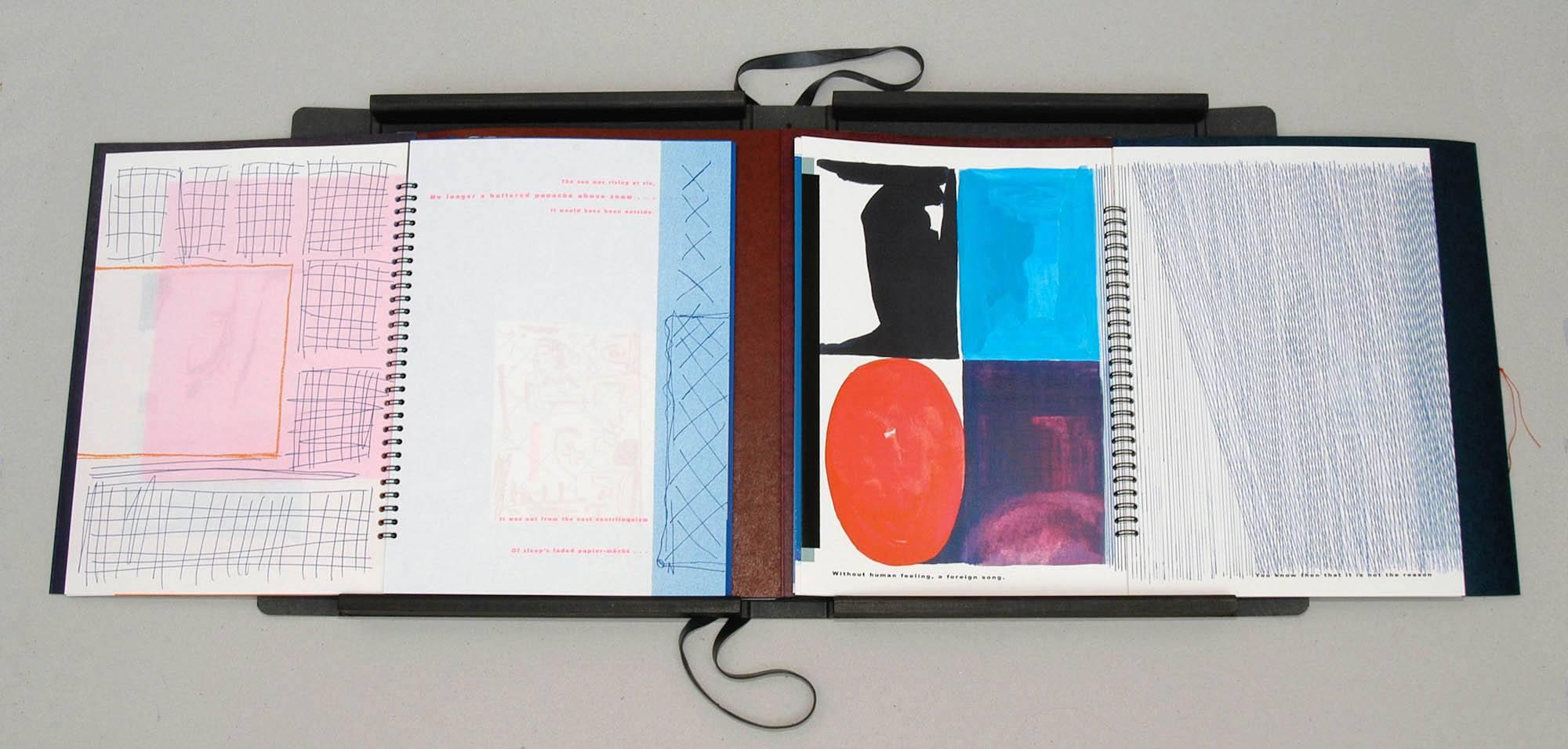 Ode aan de Kolossale Zon   Kunstenaarsboek band 1 en 3